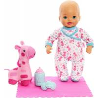 Fisher-Price Кукла пупс Моя маленькая мама Спокойной ночи DTV56 Little Mommy Goodnight Snuggles Baby Doll