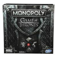 Hasbro Игра настольная Монополия Игра престолов звук Monopoly Game of Thrones Board Game