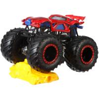 Hot Wheels Monster Jam Внедорожник джип Человек-паук 1:64 Scale GBT33 Marvel's Spider-Man Monster Trucks 30/50