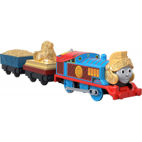 Fisher-Price моторизованный паровозик Томас в броне gdv31 Thomas Friends TrackMaster Motorized Armored Engine