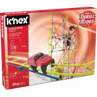 K'nex Конструктор Американские горки 15406 Thrill Rides Clock Work Roller Coaster Building Set 305 Pieces