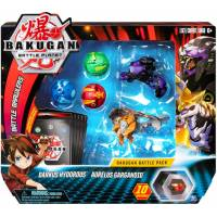 Bakugan Battle Planet Набор из 5 бакуганов 6054981 Darkus Hydorous and Aurelus Gargarnoid
