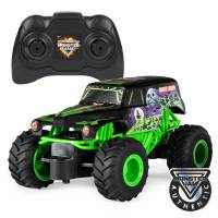 Hot Wheels Monster Jam Внедорожник джип на р/у 1:24 Scale Grave Digger Remote Control Trucks