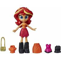 My Little Pony Equestria Girls Модный отряд Сансет Шиммер E9251 E9244 Fashion Squad Potion Sunset Shimmer Mini Doll