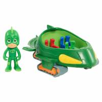 PJ Masks Герои в масках Гекко и гекко-мобиль JPL95298 Vehicle Figure Gekko Mobile