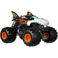 Hot Wheels Monster Jam Внедорожник джип Огненная акула 1:24 Scale GCX13 Shark Wreak Trucks Vehicle