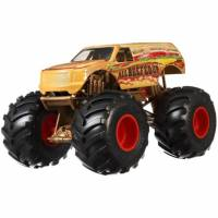 Hot Wheels Monster Jam Внедорожник джип 1:24 Scale GBV41 All Beefed Up Trucks Vehicle