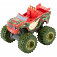 Fisher-Price Вспыш и Чудо-машинки камуфляж DGK44 Camouflage Blaze Blaze and The Monster Machines