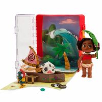 Disney Animators' мини аниматоры Моана ваяна в чемоданчике Collection Moana Mini Doll Playset