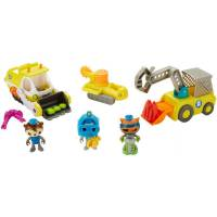 Fisher-Price Октонавты набор Барнакл, Квази и Шелингтон FDN40 Octonauts Octo Fix It Crew Playset