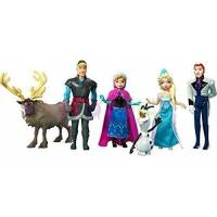 Disney Набор мини-кукол 6 шт холодное сердце Y9980 Princess Anna and The Snow Queen story deluxe set