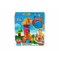 Mega Bloks First Builders Конструктор Жираф GFG19 Count & Bounce Giraffe