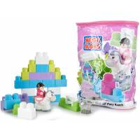 Mega Bloks First Builders Конструктор ранчо для пони 100 дет 8822 Lil Pony Ranch Building Blocks