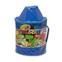 Crayola Конструктор 80 дет. синий карандаш building blocks Kids At Work 80 Piece Blocks
