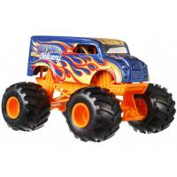 Hot Wheels Monster Jam Машинка-внедорожник Молочная Доставка 1:24 Scale Monster Truck Dairy Delivery