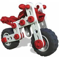 Meccano Конструктор мотоцикл 3 в 1 Junior 6026957 mighty cycles super motos