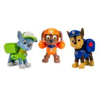 Paw Patrol Набор Щенячий Патруль 3 спасателями Чейз, Рокки, Зума Action Pack Pups 3pk Figure Set Chase, Rocky, Zuma