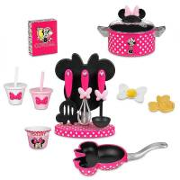 Disney Набор посуды Минни Маус Minnie Mouse Gourmet Cooking Set