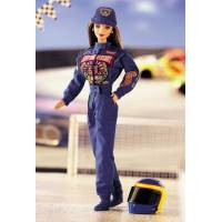 BARBIE Коллекционная Барби гонщик NASCAR 50th Anniversary DOLL Collector Edition 1998