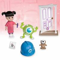 Disney Бу и Корпорация Монстров Дисней мини аниматоры Animators Collection Boo Mini Doll