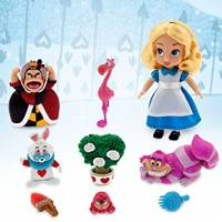 Disney Алиса в стране чудес Дисней мини аниматоры Animators' Collection Alice in wonderland Mini Doll Play Set 5''