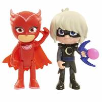 Just Play PJ Masks Герои в масках Фигурки Алетт и Луна Figure Pack Set Owlette and Luna Girl Disney Junior