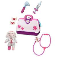 Disney чемодан доктора Доктор Плюшева и овечка Лемми Doc McStuffins Toy Hospital with Lambie Plush