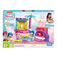 Mega Bloks Конструктор Шиммер и Шайн магазин мерцание Shimmer and Shine Genie Market
