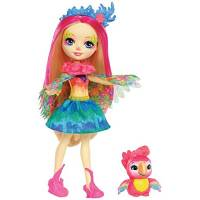 Enchantimals Кукла Попугайчик Пики и Шини Peeki Parrot Doll & Sheeny