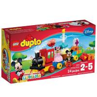 Lego Duplo Парад на День Рождения Микки и Минни Disney Mickey Mouse Clubhouse Mickey & Minnie Birthday Parade 10597 Disney Toy