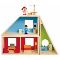 Hape Дом-трансформер Geometrics Kid's Wooden Doll House