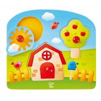 Hape Пазл Страна (E1311) Country Peg Puzzle Game, Multicolor