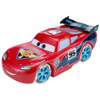 Disney Тачки Зимний Гонщик Молния Макквин 1:24 Scale Pixar Cars Ice Racers Large Lightning McQueen Vehicle
