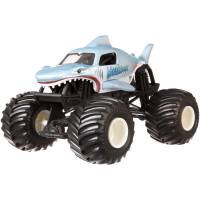 Hot Wheels Monster Jam Внедорожник джип акула 1:24 Scale Megalodon Vehicle
