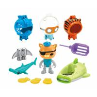 Fisher-Price Октонавты приключения Квази Octonauts Kwazii's Shark Adventure