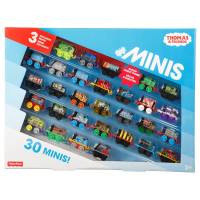 Fisher-Price Томас и друзья набор 30 паровозиков Thomas Friends Minis