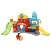 VTech Go! Go! Пожарная станция Микки Маус Smart Wheels Mickey Mouse Silly Slides Fire Station