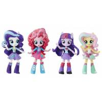 My Little Pony Equestria Girls Девочки Эквестрии искорка, рарити, флаттершай, пинки пай Minis The Elements of Friendship Sparkle Collection