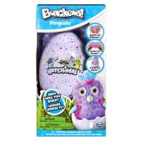 Bunchems Банчемс конструктор-липучка пингвинчик в яйце 6041479 Hatchimals Penguala Building Kit
