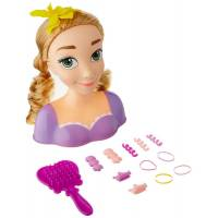 Just Play Голова манекен Рапунцель для причесок Disney Princess Rapunzel Styling Head Doll