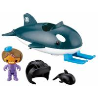 Fisher-Price Octonauts Октонавты Деши с касаткой Gup-O and Dashii