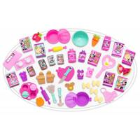 Disney Набор посудки Минни 60 предметов Minnie's Happy Helpers Deluxe Kitchen Accessory Set
