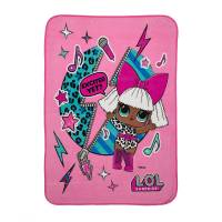 L.O.L. Surprise! Плюшевое одеяло покрывало плед Diva Character Kids Bedding Ultra Soft Plush Throw