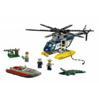 Lego City Погоня на полицейском вертолете 60067 Police Helicopter Pursuit
