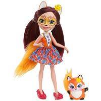 Enchantimals куколка с питомцем Фелиция лисичка Felicity Fox Doll