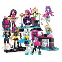 Mega Bloks Конструктор Рок группа Monster High Glam Ghoul Band Building Kit
