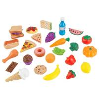 KidKraft Набор еды 30 элементов 30Pc Pretend Play Food Set Playset