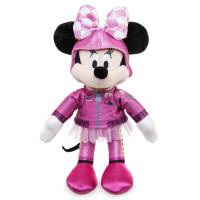 Disney плюшевая Минни Маус гонщица 24 см в розовом Minnie Mouse Plush Mickey and the Roadster Racers Small 10´