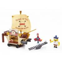Mega Bloks Конструктор Губка Боб SpongeBob Burgermobile Showdown Building Set