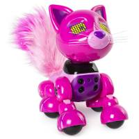 Zoomer Интерактивный котенок Meowzies Runway Interactive Kitten with Lights Sounds and Sensors